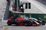 Max Verstappen (Red Bull Racing, RB12) and Valtteri Bottas (Williams F1 Team, FW38)