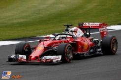 Sebastian Vettel, Scuderia Ferrari, SF16-H with Halo