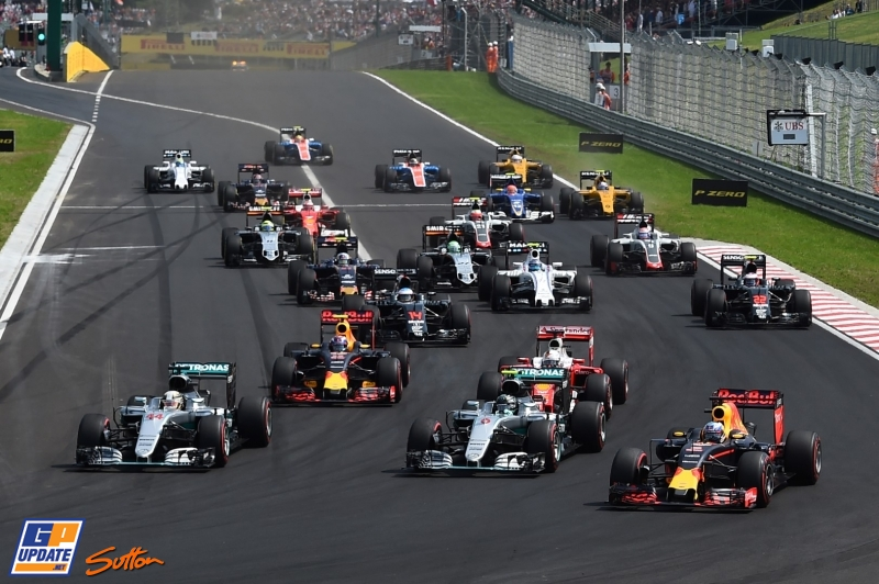 Results Hungarian Grand Prix of 2016 | Marco's Formula 1 Page