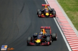 Daniel Ricciardo and Max Verstappen, Red Bull Racing, RB12