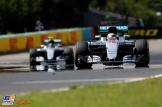 Lewis Hamilton and Nico Rosberg, Mercedes AMG F1 Team, F1 W07 Hybrid