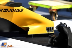 A Detail of the Renault F1 Team RS16
