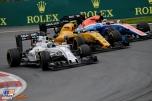 Felipe Massa (Williams F1 Team, FW38), Jolyon Palmer (Renault F1 Team, RS16) and Pascal Wehrlein (Manor Racing Team, MRT05)