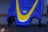 Detail of the Sauber F1 Team C35