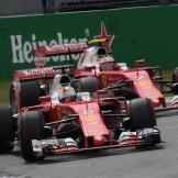 Sebastian Vettel and Kimi Räikkönen, Scuderia Ferrari, SF16-H