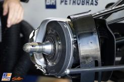 A Detail of A F1 Car