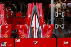 Body Work for the Scuderia Ferrari SF16-H