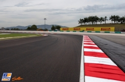 The New Surface of the Sepang International Circuit
