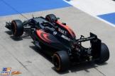The McLaren Honda MP4-31