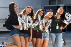 Girls for Max Verstappen his 19th Birthday