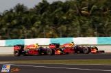 Daniel Riccardo and Max Verstappen, Red Bull Racing, RB12