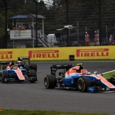 Esteban Ocon and Pascal Wehrlein, Manor Racing Team, MRT05