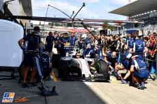 Pit Stop Practice for Williams F1 Team