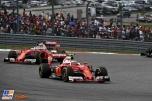 Kimi Räikkönen and Sebastian Vettel, Scuderia Ferrari, SF16-H