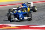 Marcus Ericsson and Felipe Nasr, Sauber F1 Team, C35