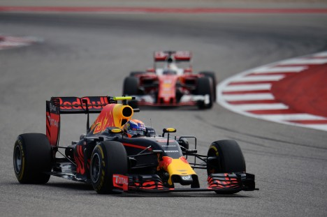 Standings United States Grand Prix of 2016