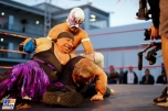 Mexican Wrestling in the Paddock