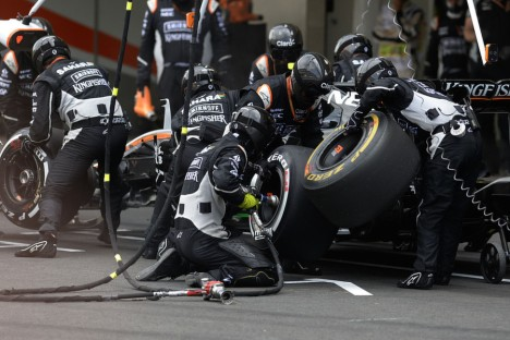 Statistics Mexican Grand Prix of 2016