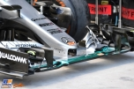 A Front Wing for the Mercedes AMG F1 Team F1 W07 Hybrid