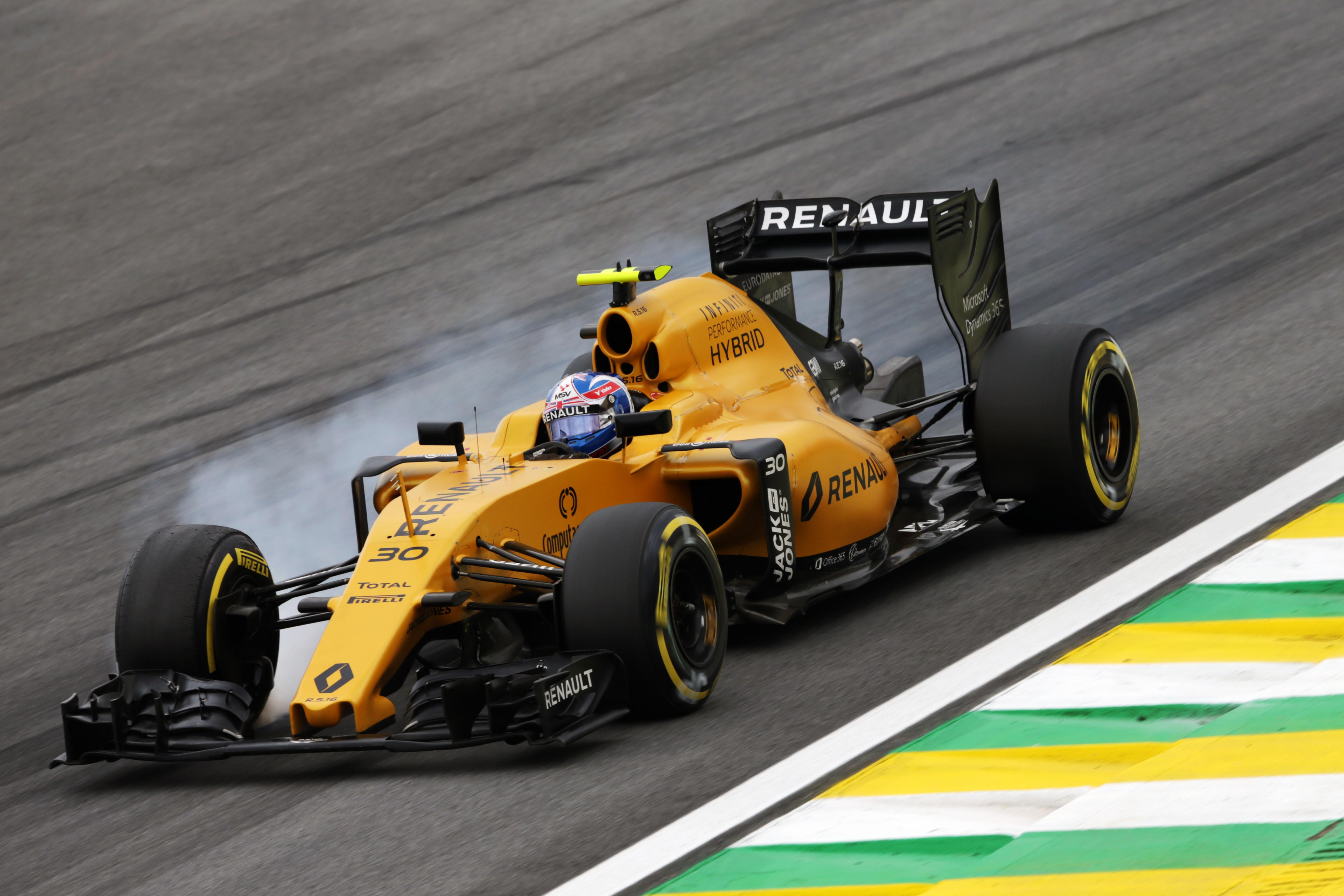 Jolyon Palmer Renault F1 Team Rs16 Marcos Formula 1 Page