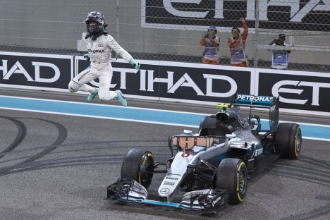 Statistics Abu Dhabi Grand Prix of 2016