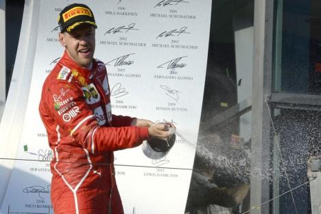 Statistics Australian Grand Prix of 2017
