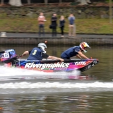 Daniel Ricciardo (Red Bull Racing) in a Power Boat