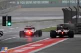 Lance Stroll (Williams F1 Team, FW40) and Stoffel Vandoorne (McLaren Honda, MCL32)