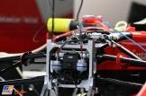 A Detail of the Scuderia Ferrari SF70-H