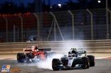 Valtteri Bottas (Mercedes AMG F1 Team, F1 W08 Hybrid) and Sebastian Vettel (Scuderia Ferrari, SF70-H)