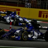 Pascal Wehrlein and Marcus Ericsson (Sauber F1 Team, C36)