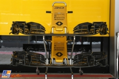 Front Wings for the Renault F1 Team RS17