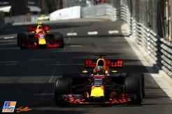 Daniel Ricciardo and Max Verstappen, Red Bul Racing, RB13