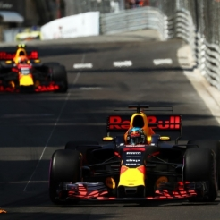 Daniel Ricciardo and Max Verstappen, Red Bul Racing, RB13