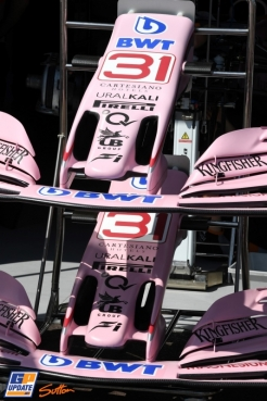 Front Wings for Force India F1 Team VJM10