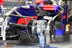 Detail of the Scuderia Toro Rosso STR12