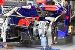Detail of the Scuderia Toro Rosso STR12