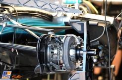 Detail for the Mercedes AMG F1 Team F1 W08 Hybrid