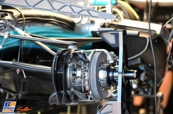 Detail for the Mercedes AMG F1 Team F1 W08 Hybrid