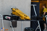 Front Wing for the Renault F1 Team RS17