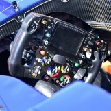 Steering Wheel for the Sauber F1 Team C36