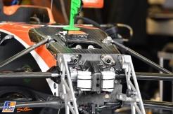 Detail of the McLaren Honda MCL32