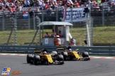 Nico Hülkenberg en Jolyon Palmer (Renault F1 Team, RS17)