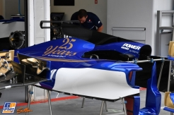 Body Work for the Sauber F1 Team C36