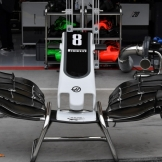 Front Wing for the Haas F1 Team VF17