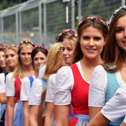Starting Grid Girls