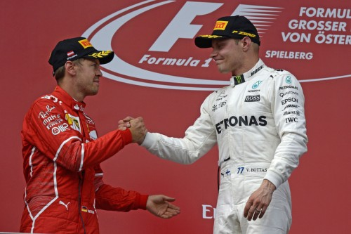 Statistics Austrian Grand Prix of 2017