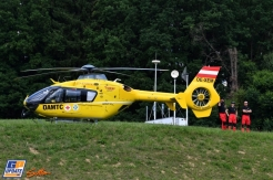 A Medical Helicopter