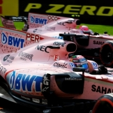 Sergio Pérez and Esteban Ocon, Force India F1 Team, VJM10
