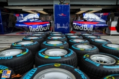 Rain Tyres and Body Work for Scuderia Toro Rosso